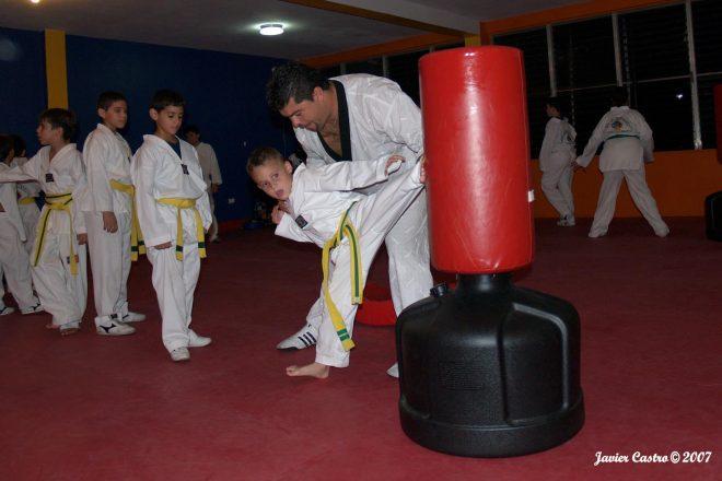 Representación especial en artes marciales