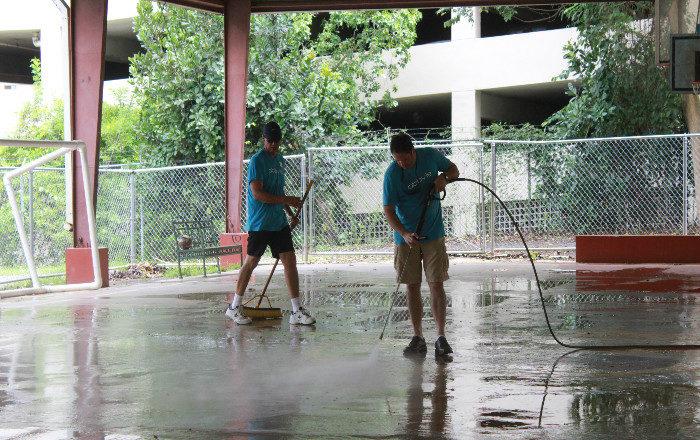 Reparación de techos en escuelas alterará horario