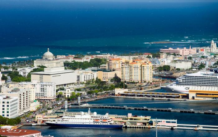crucero, San Juan, turismo, Viejo San Juan