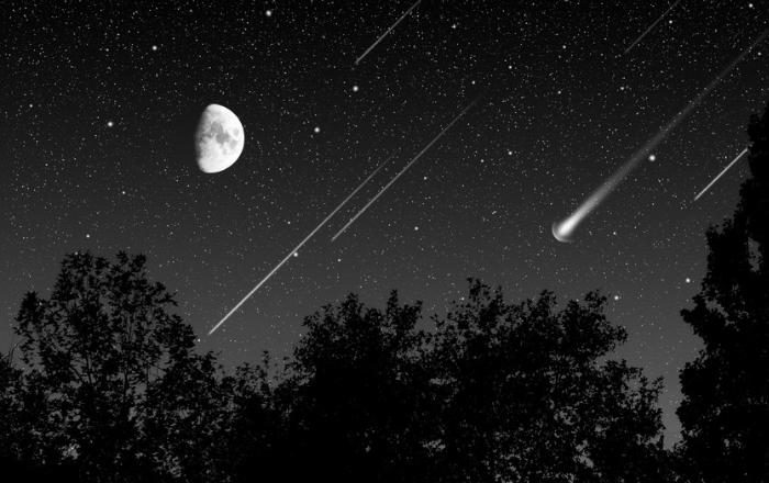 Lluvia de meteoros este fin de semana