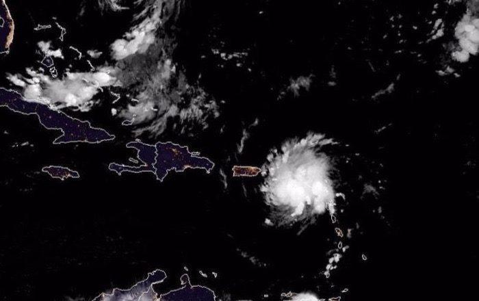 Dorian se acerca a Puerto Rico e Islas Vírgenes