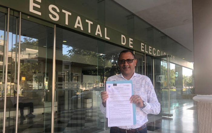 Abel Nazario buscará la reelección como senador