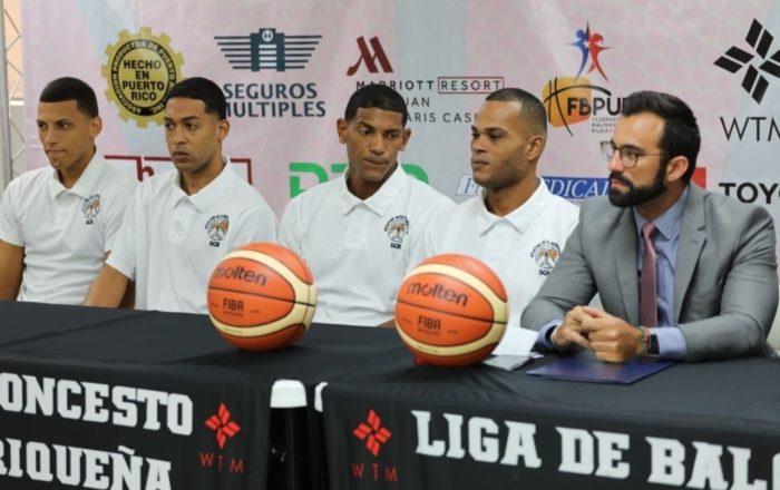 LBP firma cuatro confinados como jugadores