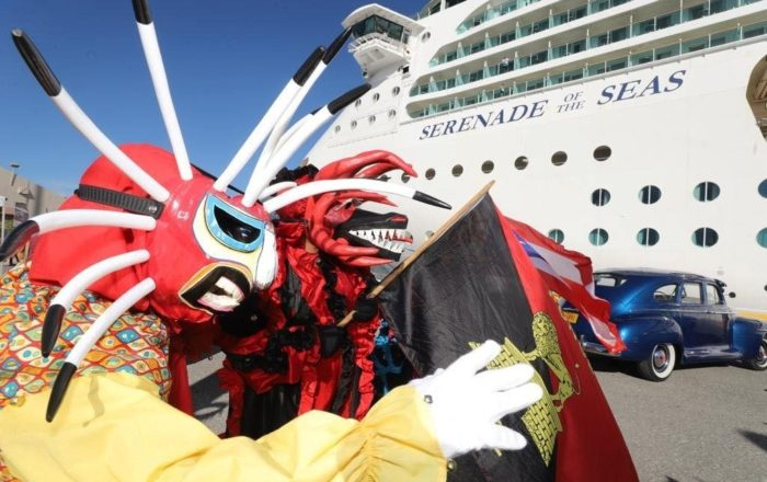 Crucero Serenade of the Seas visitó Ponce
