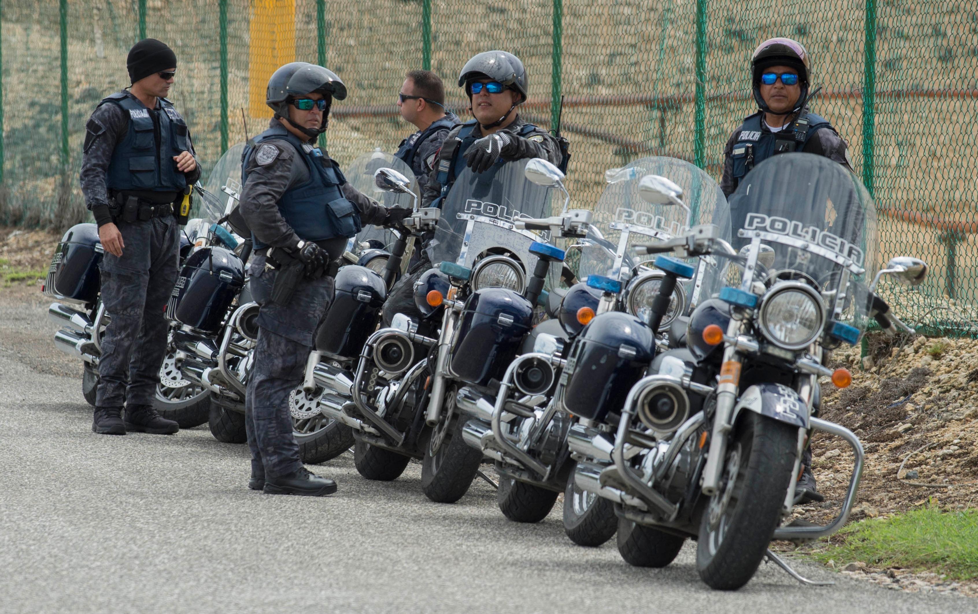 policias, motoras