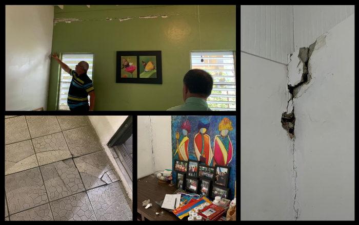 Guánica inicia plan para mitigar los daños por los sismos