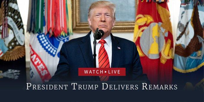 Trump anuncia más sanciones económicas contra Irán