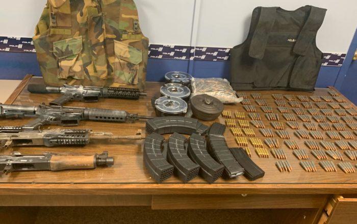 Descubren mini arsenal en Morovis