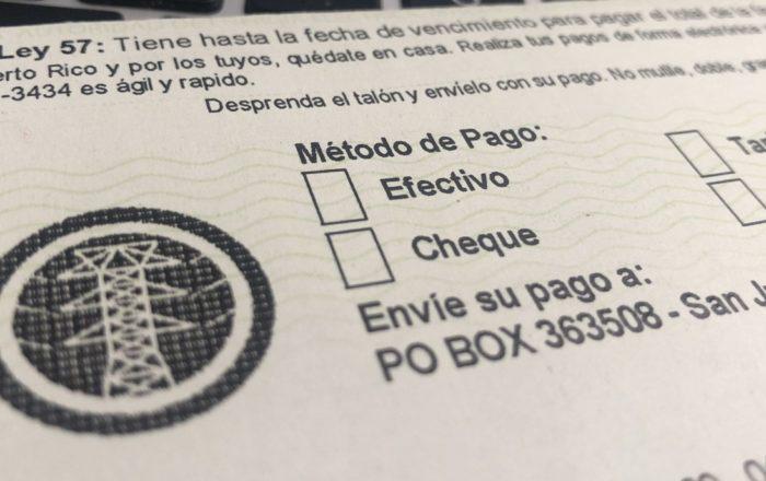 """Representante de los consumidores ante AEE  denuncia rebaja en factura de luz """"no es real"""""""