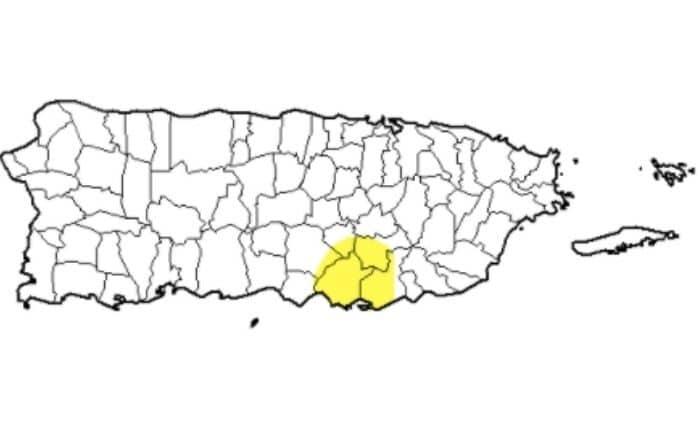 Salinas bajo sequía anómala