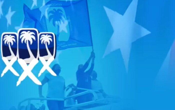 Gobernadora pide el voto por la palma en las tres papeletas