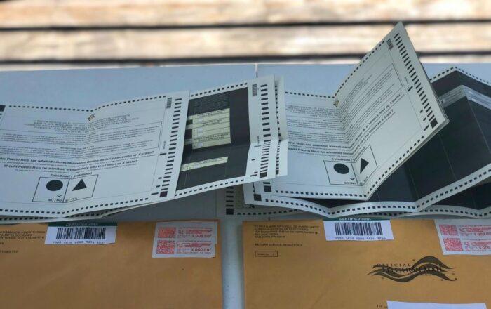 Denuncian irregularidad en el envío de papeletas