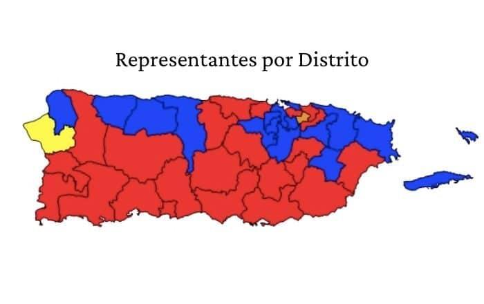 Populares toman el mando en los distritos representativos del Sur