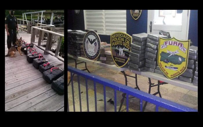 Policía incauta 203 bloques de cocaína en Parguera