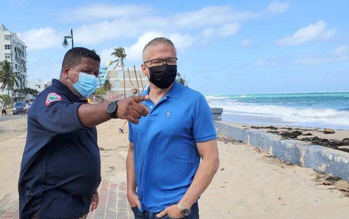 Nino Correa hace llamado a evitar visitar la costa norte a causa de altas marejadas