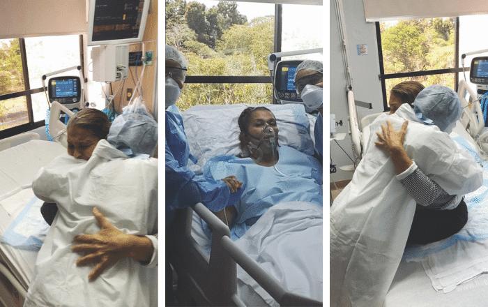 """Primera paciente de Covid en el sur: """"No soy la misma de antes"""""""