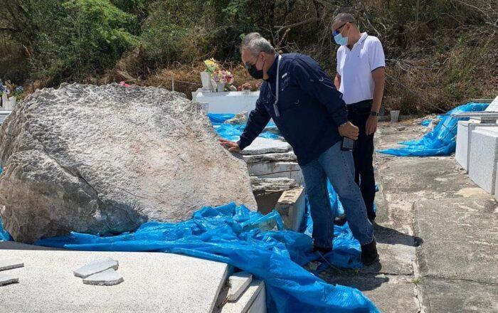 Cementerio de Guánica será reabierto al público el Día de las Madres