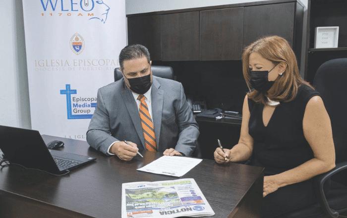 Alianza entre WLEO y Es Noticia