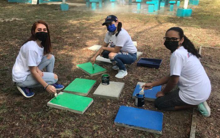 Voluntarios transforman comunidad en Ponce