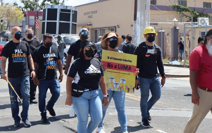 Se fortalece en Ponce la oposición a LUMA