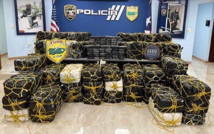 Incautan cocaína valorada en $31.5 millones