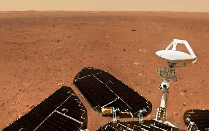 China revela nuevas imágenes de Marte