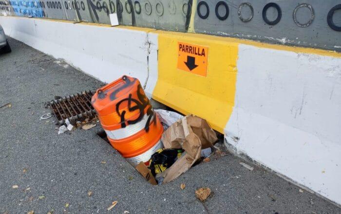 Denuncian acto vandálico para provocar inundaciones